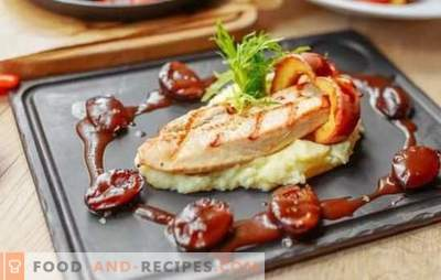 Grilled turkey - maximum taste and benefit! Grilling turkey in tomato, kefir, honey, wine, mustard marinade