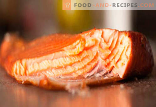 Smoked salmon - the best recipes. How to cook smoked salmon correctly and tasty.