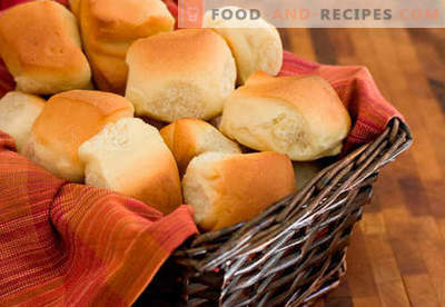 Yeast buns are the best recipes. How to properly and tasty cook buns from yeast dough at home