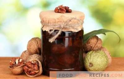 Jam made from lime without walnuts is a tasty and healthy delicacy. How to make different types of jam from walnuts without lime?