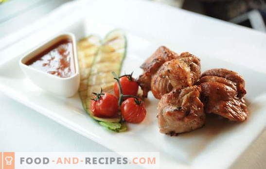 Pork kebab with vinegar and onion: the secrets of the marinade. How to cook juicy pork shashlik with vinegar and onions, with honey