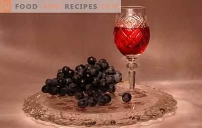 La teinture de raisin à la maison n'est pas du vin! Recettes Teinture parfumée et brillante de raisins à la maison