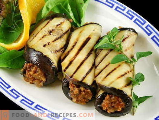 Eggplant with nuts - the best recipes. How to properly and tasty cook Eggplant with nuts.