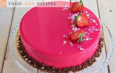 Mousse cake is beautiful and incredibly tasty! Recipes for mousse cakes with mirror icing on condensed milk, with cocoa and chocolate