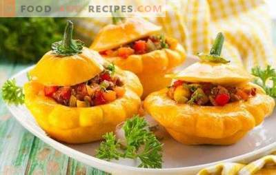 What to cook from the squash quickly and tasty: snacks, first and second courses, desserts. Choose what to cook from the squash