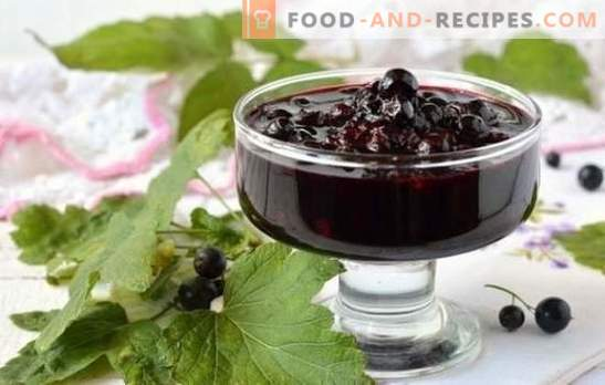 Currant jam in a slow cooker: recipes for delicious delicacies. How to make red and black currant jam in a slow cooker