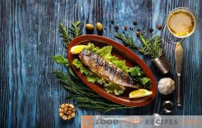 What spices are needed for fish, and which spices are not combined with it?