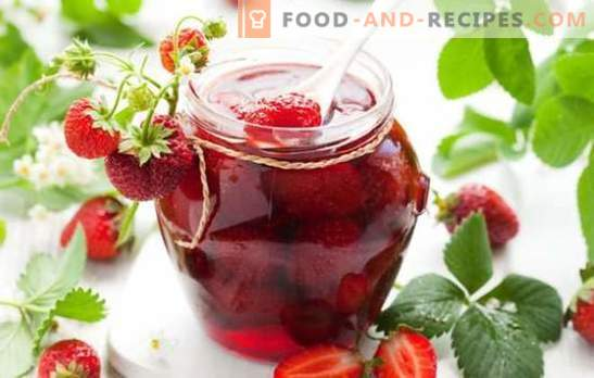 Strawberry jam with whole berries - kra-so-ta! Subtleties and secrets of fragrant strawberry jam with whole berries