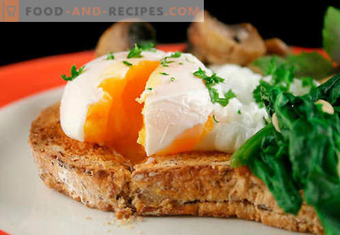 Egg sandwiches are the best recipes. How to quickly and tasty cook sandwiches with egg.