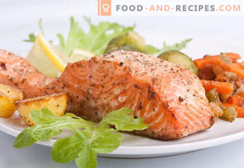 Salmon steak - the best recipes. How to properly and tasty cook salmon steak.