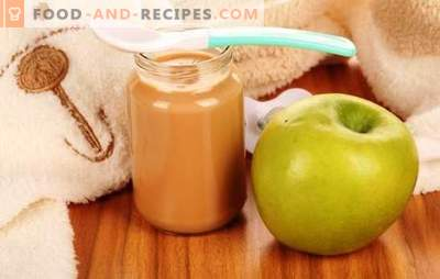 Apple puree for children: how to properly and tasty cook it. Recipes for apple puree for babies