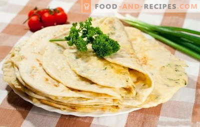Miracle with meat - fry without oil! A selection of recipes miracle with meat from different types of dough in a pan and in the oven: the aroma of the Caucasus