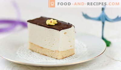 Cake Bird's milk - the best recipes. How to properly and tasty cook at home cake Bird's milk.