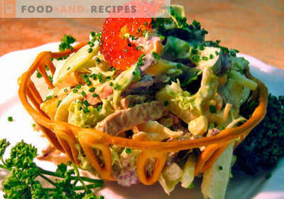 Russian salad - the best recipes. How to properly and tasty cook Russian salad