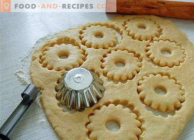 Shortbread dough - the best recipes. How to properly and tasty to prepare shortbread dough.
