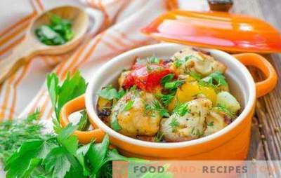 Chicken breast in the pot - a win-win! Recipes of tender chicken breast in pots with vegetables, mushrooms, buckwheat, fruit