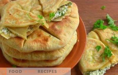 Scones with onions - they are unusual! Recipes of various flat cakes with onion and green onions in a griddle and in the oven