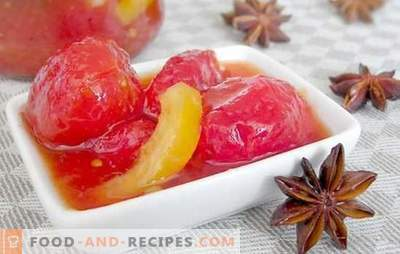 Green and red tomato jam: unexpectedly tasty! You do not know such recipes for jam from tomatoes
