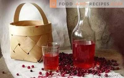 Lingonberry tincture at home: cooking secrets. Home-made tasty liqueur from lingonberry on vodka, alcohol, cognac