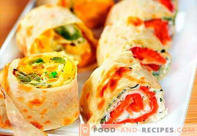 Home rolls are the best recipes. How to cook rolls at home.