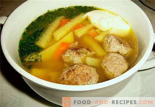 Chicken broth - the best recipes. How to properly and tasty cook chicken broth.