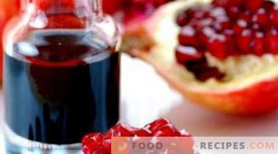 Pomegranate sauce - the best recipes. How to cook pomegranate sauce.