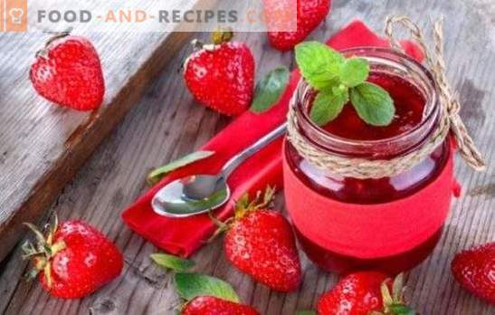 Strawberry jam in a slow cooker - a great dessert for tea. Delicious strawberry jam in a slow cooker - enough desire and a couple of ideas