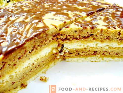 Zebra cake - the best recipes. How to properly and tasty cook zebra cake.