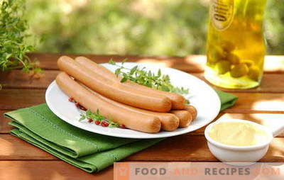 How to cook sausages in various ways - lots of options! How to cook sausages for a couple, in the microwave and the slow cooker