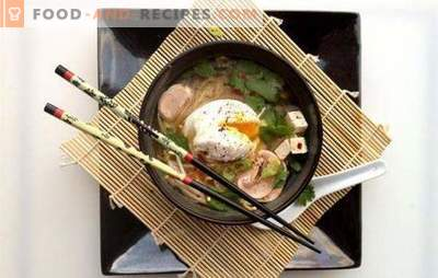 Japanese soup is an alluring tale of the east. Recipes of various Japanese soups: with seafood, fish, rice noodles, tofu, miso