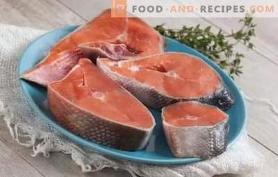 Coho steak - for lovers of amazing fish! Coho steak recipes with lemon, vegetables, cream, soy sauce, steamed