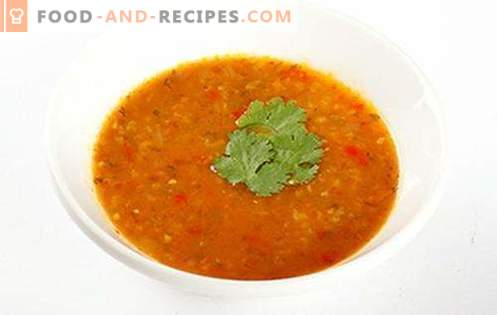 Kharcho soup - the best recipes. How to properly and tasty cook soup kharcho.