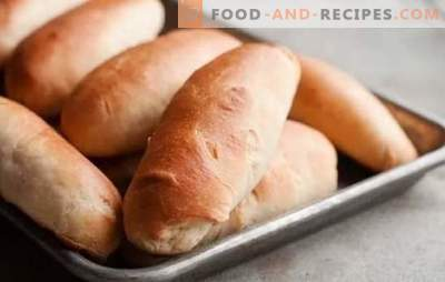 Hot dog buns - friendship with sausage is guaranteed! Recipes for homemade buns for hot dogs from different dough on water, milk, sour cream