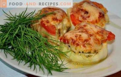 Zucchini with minced meat and tomatoes: healthy yummy! The best stuffing options for zucchini with minced meat and tomatoes