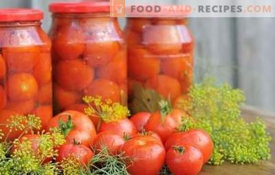 Tomatoes with aspirin: an alternative to regular marinating. Traditional and original recipes for harvesting tomatoes with aspirin