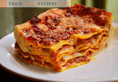 Lasagna in the crock-pot - the right recipes. How to quickly and tasty cook lasagna in a slow cooker.