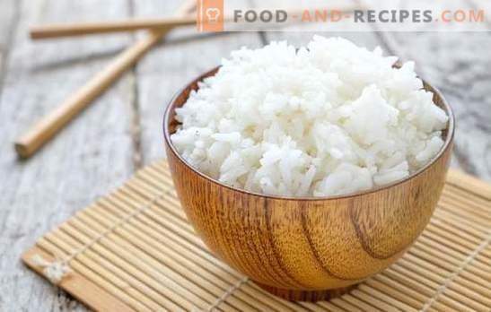The most common mistakes when cooking rice