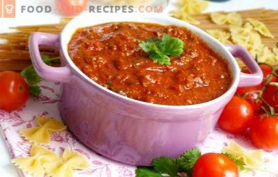 Bolognese sauce at home is the best pasta supplement! Classic and new homemade bolognese sauce recipes