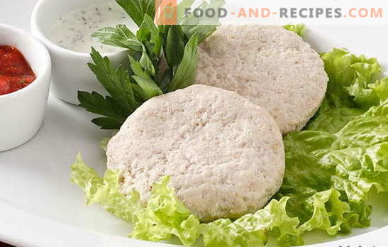 We give unloading to an organism, we prepare fish cutlets for a couple. Replacing fried dishes with steamed fish cutlets: the best recipes