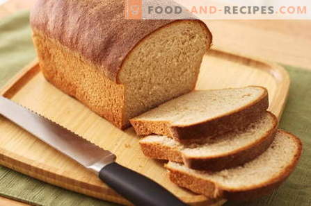Bread in a bread maker - the best recipes. How to bake bread at home.