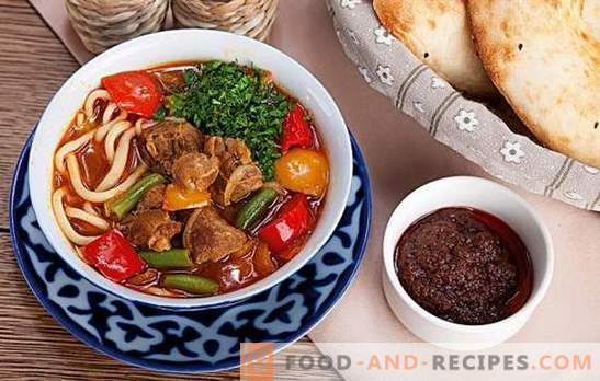 Lagman in a slow cooker - a fragrant and nourishing dish without much hassle. The best recipes of lagman in a multicooker with lamb, beef, chicken