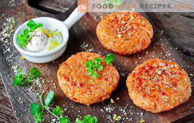 Miracle of home culinary art - crab sticks cutlets. Low Cost Crab Cutlets: Amazing Recipes