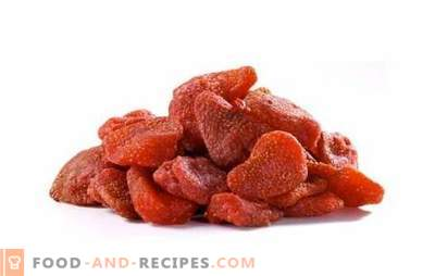 Taste of summer - flavored candied strawberries. We decorate pastries, manniki and cakes with candied strawberries