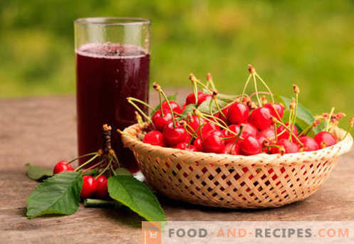 Cherry compote - the best recipes. How to properly and tasty compote made of cherries.