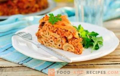 Bolognese with minced meat - Italian sauce! Bolognese sauce recipes with minced meat and tomatoes, mushrooms, wine, tomato paste