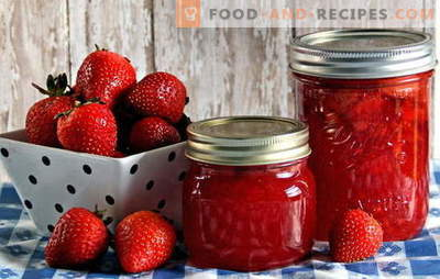 Strawberry preservation - we keep aroma and taste. Strawberry preservation: recipes for jam, compote, jam, etc.