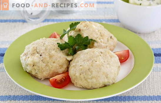 Cooking patties with curd from any mincemeat. Potato, fish, carrot and minced meat in cottage cheese cutlets