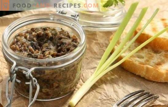 How to cook caviar from honey agaric, to make it tasty? The best recipes and methods of cooking caviar from honey