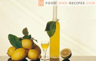 Lemon tincture and secrets of its preparation. Lemon tincture recipes for a homemade bar with a refreshing citrus scent
