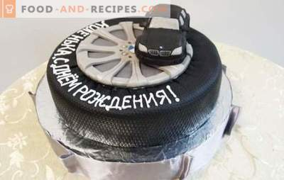 A birthday cake for a man is the sweetest gift! A selection of different cakes for men for birthday